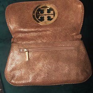 Tory Burch Bags - Gold Tory Burch clutch